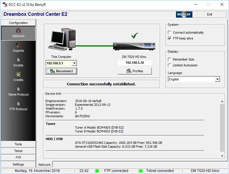 logiciel dcc pour dreambox